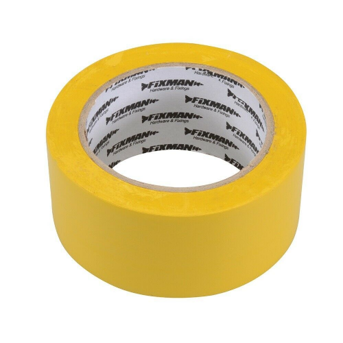 Fixman 192031 Electrical Insulation Tape 50mm x 33m Yellow